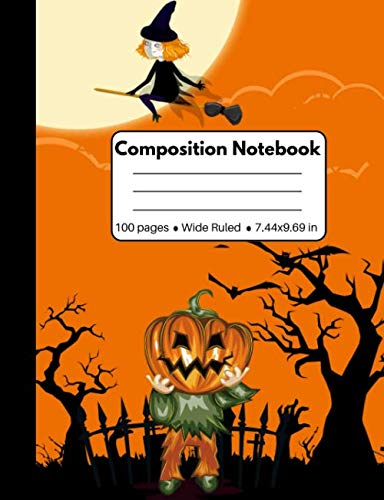 Composition Notebook: Halloween Gifts for Girls and