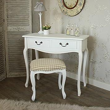 Home Furniture Bianco confezione in legno in stile francese da ...