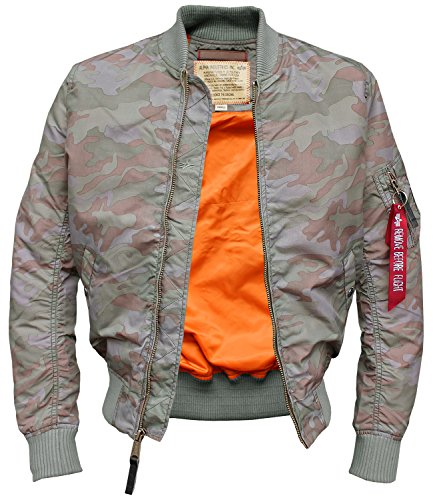 Alpha Homme Multicoloured Alpha Woodland Blouson Multicoloured Blouson Homme wvCpqxZ