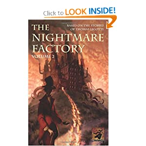 The Nightmare Factory, Vol. 2 Thomas Ligotti, Stuart Moore, Joe Harris and Vasilis Lolos
