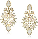 Kendra Scott Aurilla Gold Plated Ivory Zellige Earrings