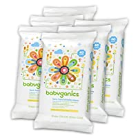 Babyganics Face, Hand & Baby Wipes, Fragrance Free, 240 Count (Contains Six 4...
