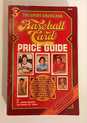 The Sport Americana Baseball Card Price Guide Number 3 Dr James