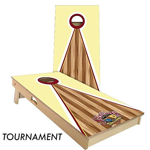 "Slick Woody's 4'x2' Regulation ""Slick Woody's Pyramid"" Cornhole Boards Set"