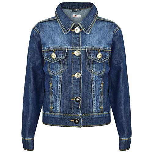 New Styles Jeans - Kids Boys Jacket Kids Denim Style Stylish Fashion Trendy Coat New Age 3-16 Years