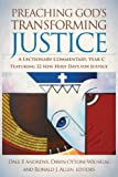 Preaching God's Transforming Justice, , 0664234550