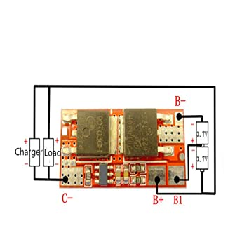 Amazon com : 10A 2S 8 4V PCB PCM BMS Charger Charging Module