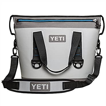 YETI Hopper Two 20 Cooler (Fog Gray / Tahoe Blue)