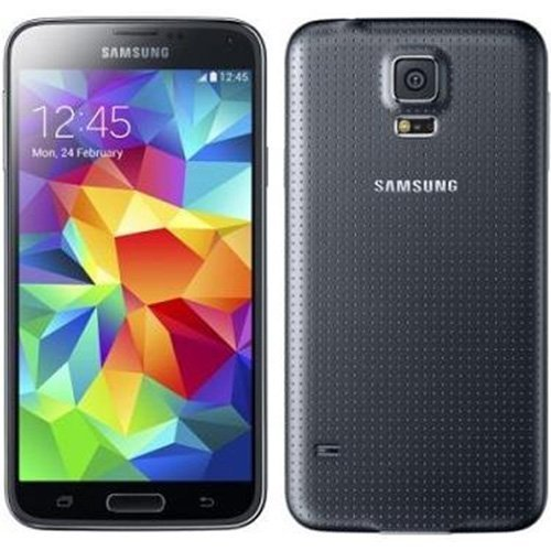 Samsung Galaxy S5 SM-G900H Factory Unlocked Cellphone, International Version, Black (Samsung Unlock Cell Phone)