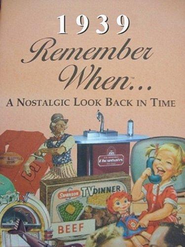 Remember When...1939 Trivia Book