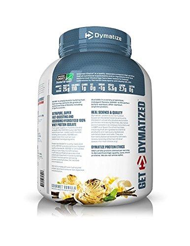 Amazon Dymatize ISO 100 Whey Protein Powder Isolate Gourmet Vanilla 5 Pound Health Personal Care