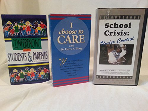 Lot of 3 Teachers Videos on Conferences and Bullying VHS Tapes ~ School Crisis Under Control, I Choose To Care Dr Wong, Setting the Stage For Great Conferences ()