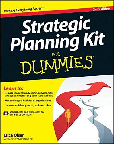 Strategic Planning Dummies Erica Olsen product image