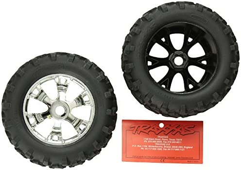 Traxxas 5674 Maxx Tires on Geode Wheels, 2-Piece [並行輸入品]