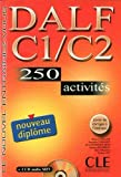 img - for DALF C1/C2: 250 Activities [With Booklet and MP3] (Nouvel Entrainez-Vous) (French Edition) book / textbook / text book