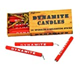 """Toys : Birthday Candle set 'dynamite' stick (set of 10) - 3"""" tall - by NuOp Design"""