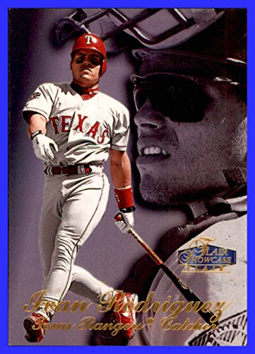 1998 Flair Showcase Row 3 #28 Ivan Rodriguez Pudge HOF TEXAS - Flair Showcase 1998