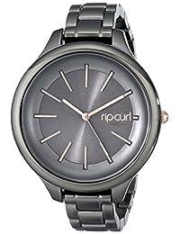 Rip Curl Women's A2775G Analog Display Quartz Grey Watch