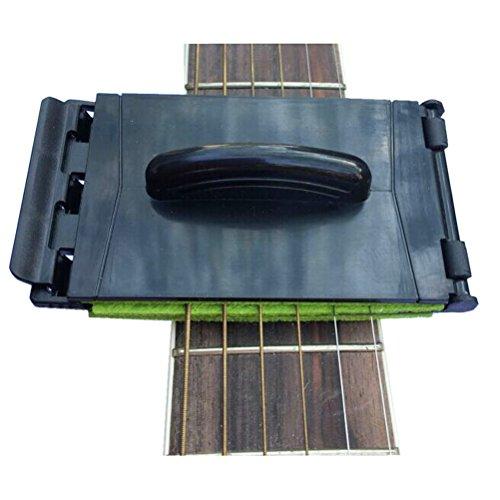ULTNICE Guitar Cleaning Tool Fingerboard Cleaner Guitar String Cleaner (Random Color) ()