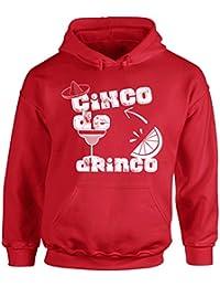 Cinco de Drinco Hooded Sweatshirt Cinco de Mayo Hoodie Sweater
