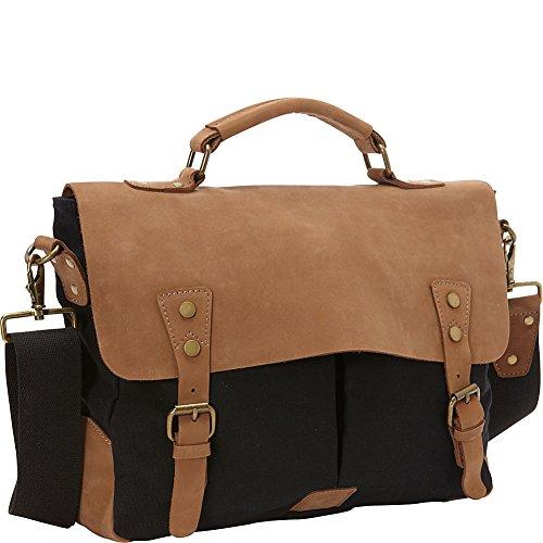 vagabond-traveler-casual-style-cowhide-leather-cotton-canvas-messenger-bag