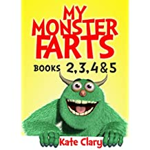 My Monster Farts Books 2,3,4 &5