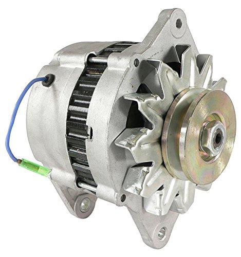 DB Electrical AHI0059 New Alternator For Yanmar Marine Diesel Hi-Output 80 Amp 3Jh2 3Jh3 4Jh2 4Jh3 4Lh 6Ly Kbw20 Lr180-03 Lr180-03C 3Jh2Be 3Jh2E 84150 112375 4-6278 LR180-03A LR180-03B 119573-77200