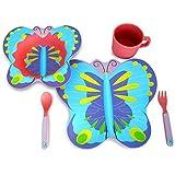 Culina Kids Bamboo 5-piece Dinnerware Set - Butterfly
