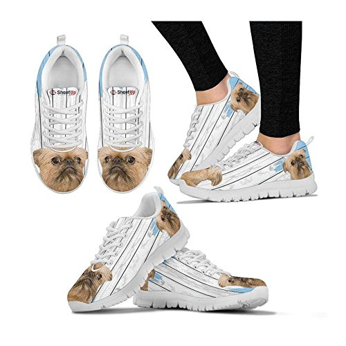 Dog Breed Your Sneakers Amazing Shoetup Griffon Women's Brussels Choose Running Casual Shoes Print Women's ytScpcaPB