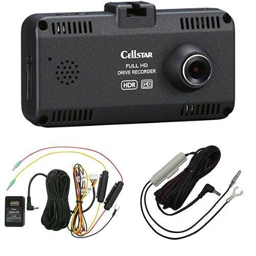 『セルスタードライブレコーダー CSD-690FHR』と『ドライブレコーダー 電源コード GDO-10』と『ドライブレコーダーDCコード GDO-15』のセット B07BZS73KR