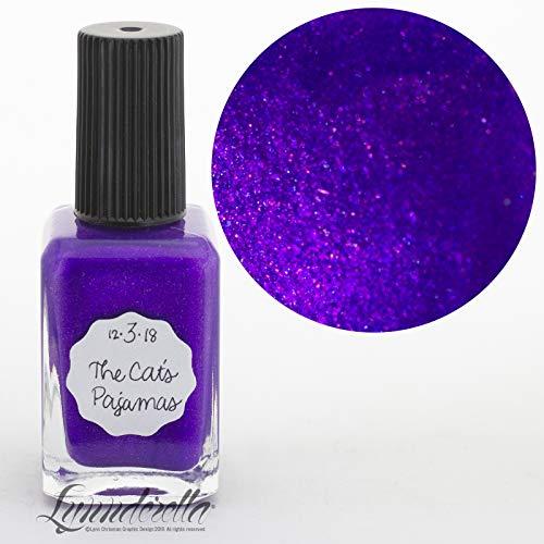 Lynnderella-2018 Advent, Purple Shimmerella Nail Polish-December 3-The Cat's Pajamas]()