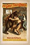 Poster The great train robbery written by Scott Marble. 1896