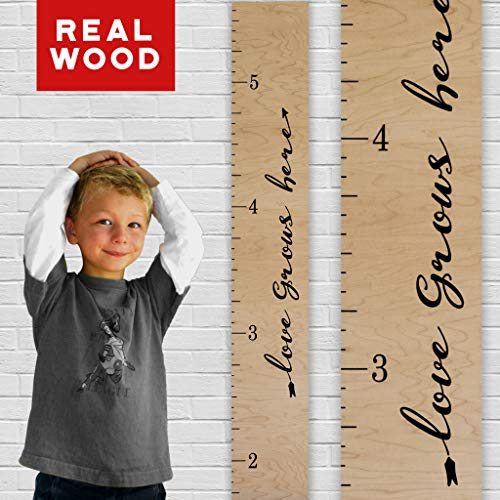 oversized ruler growth chart - 8