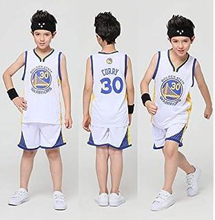 pour # 30 t-Shirt Top /ét/é Stephen Curry Femme v/êtements de Sport Enfants Fans de Golden State Warriors Chemise Maillot de Basketball d/ébardeur Gilet m/âle