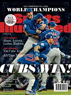 sports illustrated chicago cubs 2016 world series champions commemorative issue team celebration cover cubs