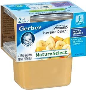 Gerber 2nd Foods Baby Foods Sitter Hawaiian Delight