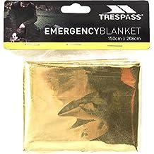 Trespass Foil X Emergency Blanket (One Size) (Gold)