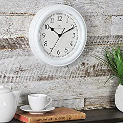 FirsTime & Co. White Essential Wall Clock, 8.5