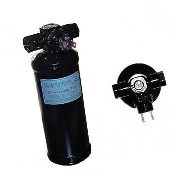 VIGORFLYRUN PARTS LTD 515-3R Receptor Secador Acumulador Filtro Secador de Aire Botella con Interruptor para Aire Acondicionado automotriz Aire ...
