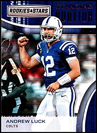 3d8933b5 Amazon.com: 2018 Rookies and Stars Standing Ovation #17 Andrew Luck ...