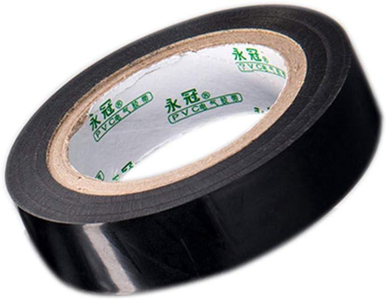 10pcs PVC-Isolierung Electric Wire Schlauchreparaturband Wasserdicht Self Adhesive Flexible isolierte Band