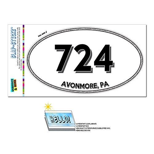 graphics-and-more-area-code-oval-window-laminated-sticker-724-pennsylvania-pa-acme-charleroi-avonmor
