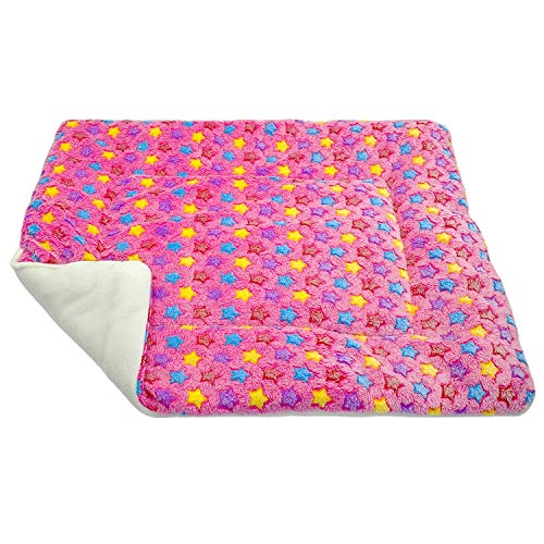 colorful-space Winter Dog Bed Blanket Soft Fleece Pet Sleeping Bed Cover Mats Warm Sofa Cushion Mattress for Small Large Dogs Cats Cama Perro,2,XL