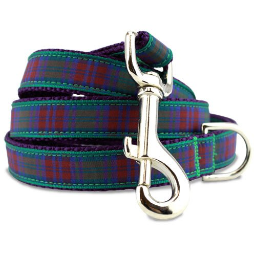 Plaid Dog Leash, Lindsay Tartan