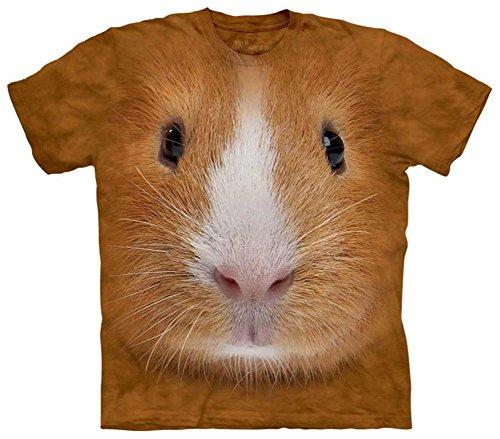 The Mountain Guinea Pig Face T-shirt (Guinea Pig Costumes)