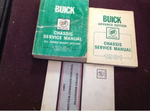 1981 Buick LESABRE RIVIERA REGAL SPORT WAGON Service Shop Repair Manual ()