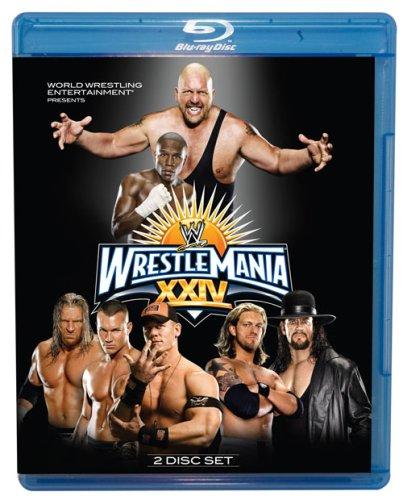 Wwe  Wrestlemania Xxiv  Blu Ray