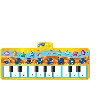 Estera para piano para niños 32 pulgadas 10 teclas Teclado ...