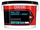Evo-Stik Mould Resistant Wall Tile Adhesive & Grout Ready Mixed Large 5 L New