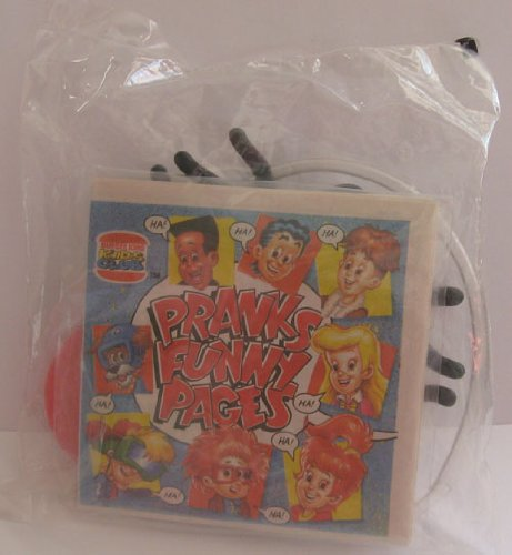 Burger King Kids Club Meal Pranks Funny Pages Spider for $<!--$3.90-->